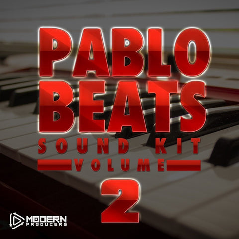 Pablo Beats Sound Kit Volume 2 - Hip Hop Producer kit