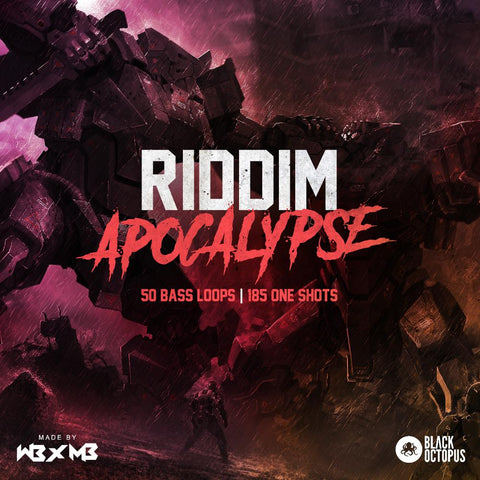 Riddim Apocalypse - Bass Loops & Bass One-Shots