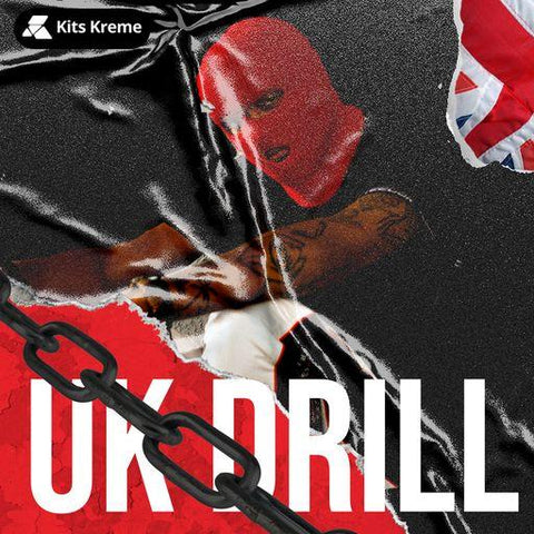 UK Drill - Loops, Song Starters & Drums