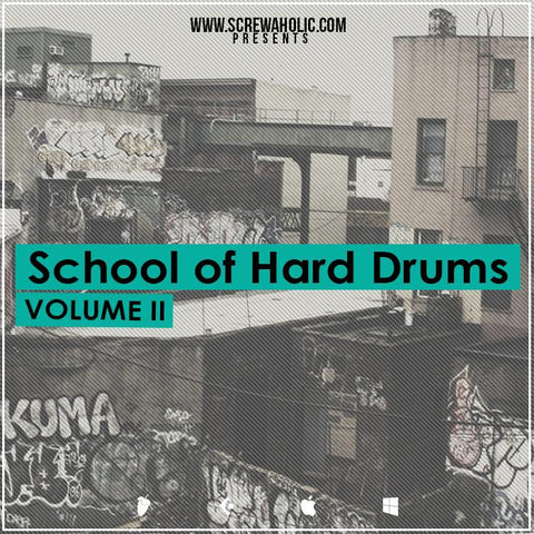 School Of Hard Drums Vol.2 - Drum Breaks & Samples