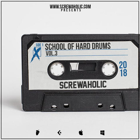School Of Hard Drums Vol.3 - Boom Bap Hip Hop Drum Kit