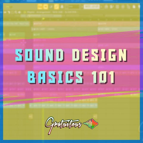 Sound Design Basics 101 - Video Course