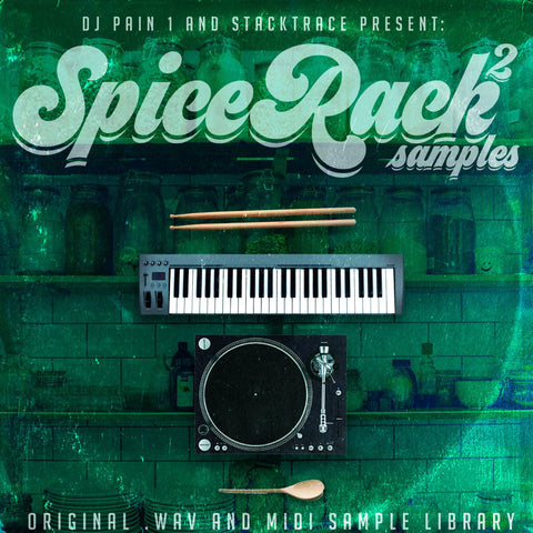 Spice Rack Samples Vol.2 - DJ Pain 1 Sample Kit