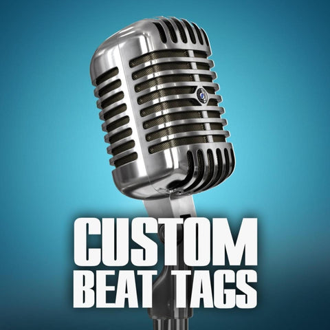 Order custom beat tags. Tag your beats.