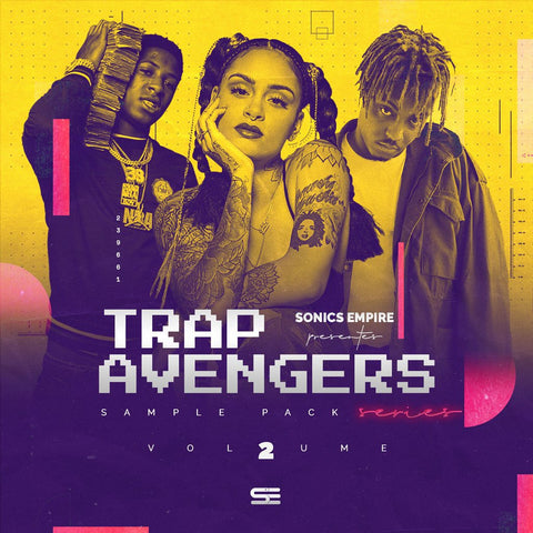 Trap Avengers Vol.2 (Sample & Drum Pack)