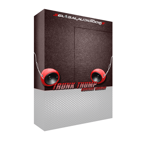 Trunk Thump (Bass, 808 & Kick Kontakt Library)
