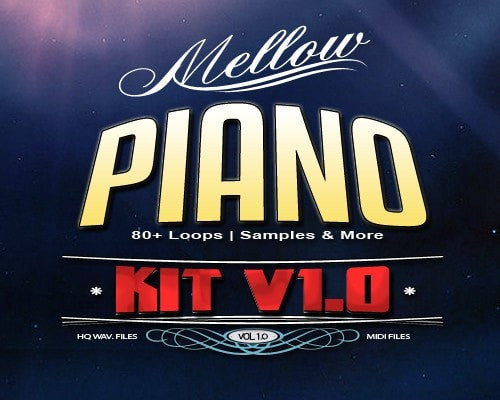 Mellow Piano Loops