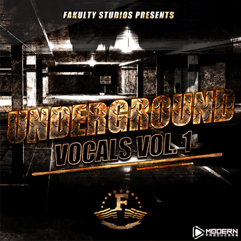 Underground Vocals Vol 1 By Fakulty Studios