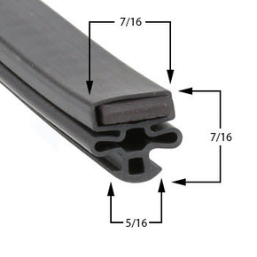 Master-Bilt TLG48HD Compatible Door Gasket