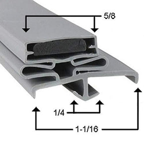 Continental UC48 Compatible Door Gasket