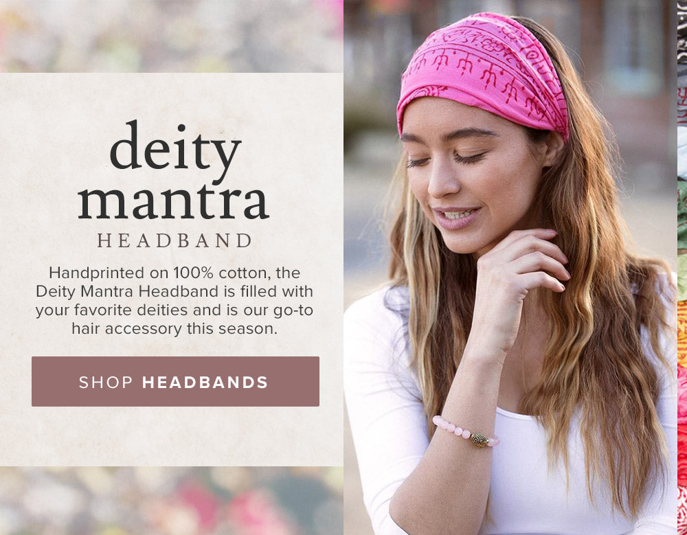 shop Deity Mantra Headbands