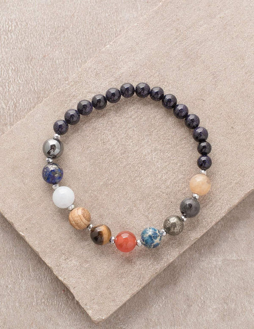 9 Planet Energy Gemstone Bracelet