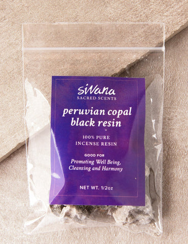 Sivana Peruvian Copal Black Resin