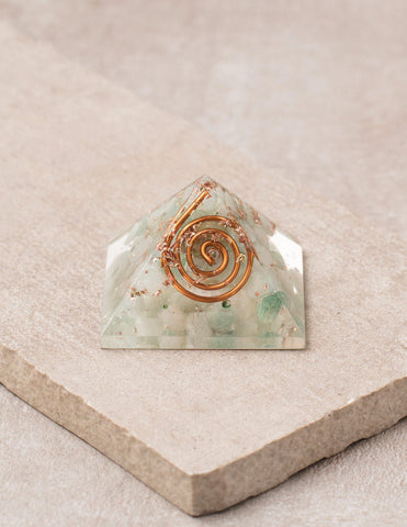Green Aventurine Orgone Mini Pyramid