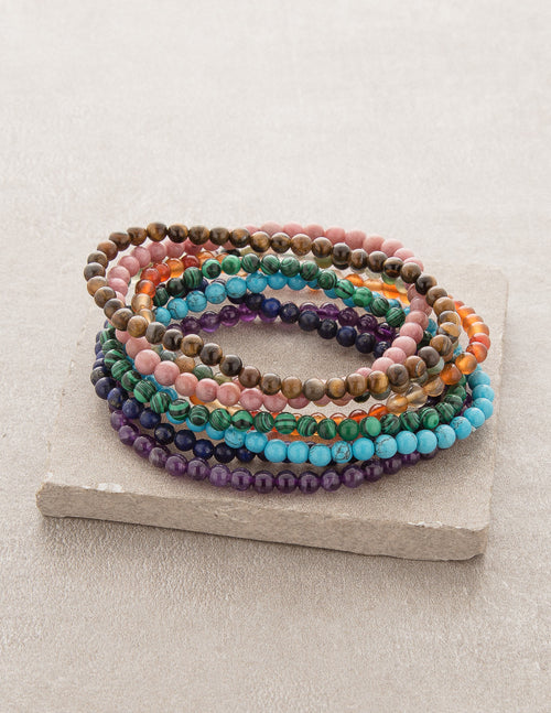 Mini Gemstone Energy Bracelets