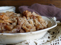 Apple Crisp Deliciousness shared from the kitchen of Amy Jo at PureAndSimple.com