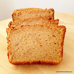 Sweet Potato Bread Paleo - source: From our friends at WholeFoodsSimply.com