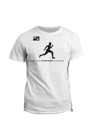 Team British Virgin Islands Running Man Dry Blend Shirt (Y)