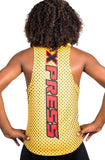 T15212 - Custom Sublimated Running Singlet with Compression Short (Y)