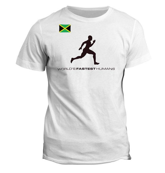 Team Jamaica Running Man Dry Blend Shirt (Y)