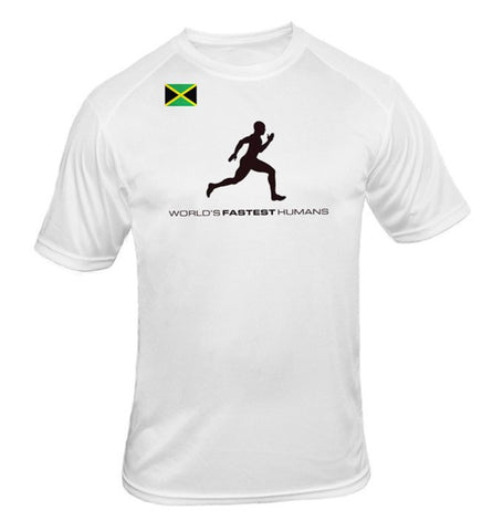 Team Jamaica Running Man Dry Blend Shirt
