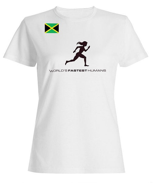 Team Jamaica Running Woman Dry Blend Shirt (Y)