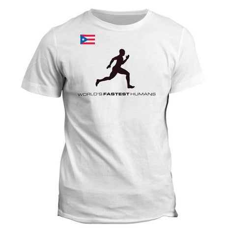 Team Puerto Rico Running Man Dry Blend Shirt (Y)