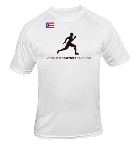 Team Puerto Rico Running Man Dry Blend Shirt