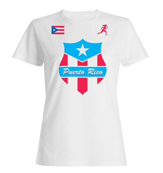 Team Puerto Rico Shield Dry Blend Shirt (Y)