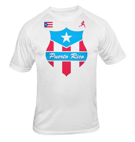 Team Puerto Rico Shield Dry Blend Shirt