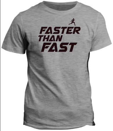 FASTER THAN FAST HEATHER YOUTH T-SHIRT