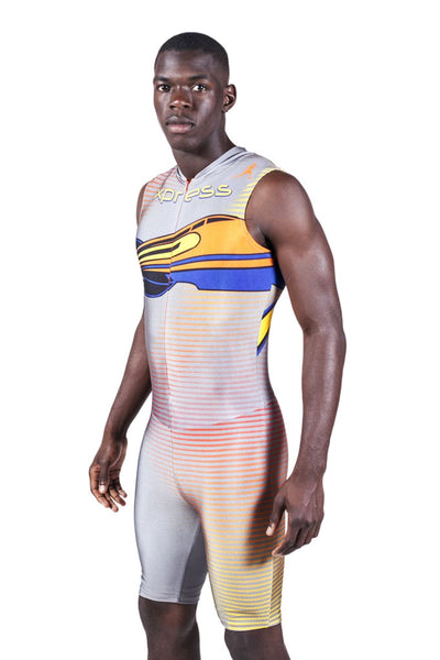 T12202 - Custom Sublimated Sleeveless Compression Speedsuit