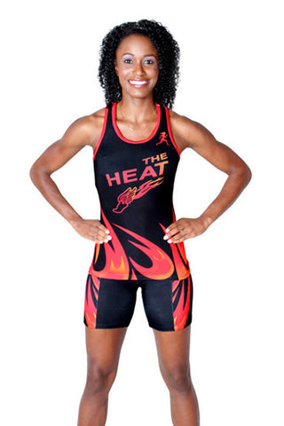 T15111 - Custom Sublimated Compression Tank Top with Compression Short