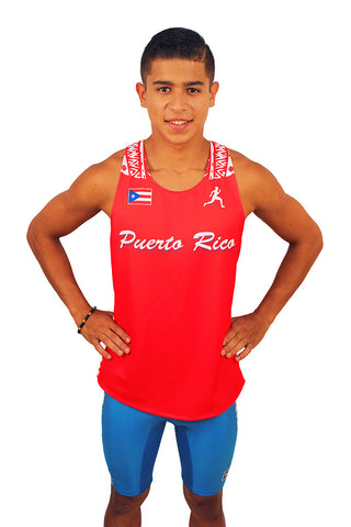 Puerto Rico 2016 Authentic Running Singlet
