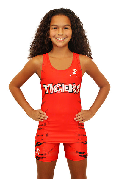 T15111 - Custom Sublimated Compression Tank Top with Compression Short (Y)