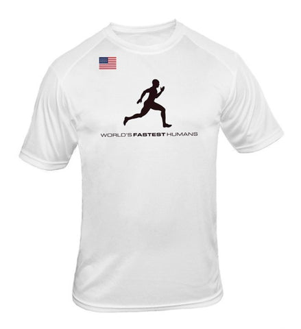 Team USA Running Man Dry Blend Shirt
