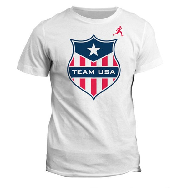 Team USA Shield Dry Blend Shirt (Y)