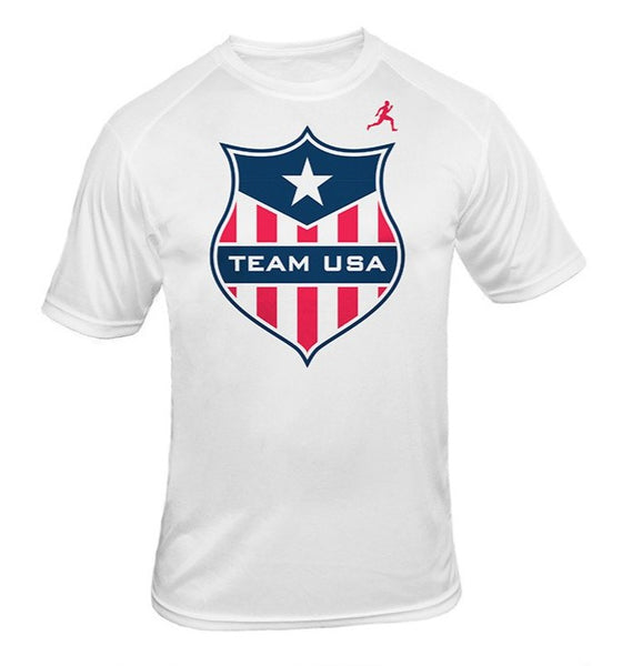 Team USA Shield Dry Blend Shirt