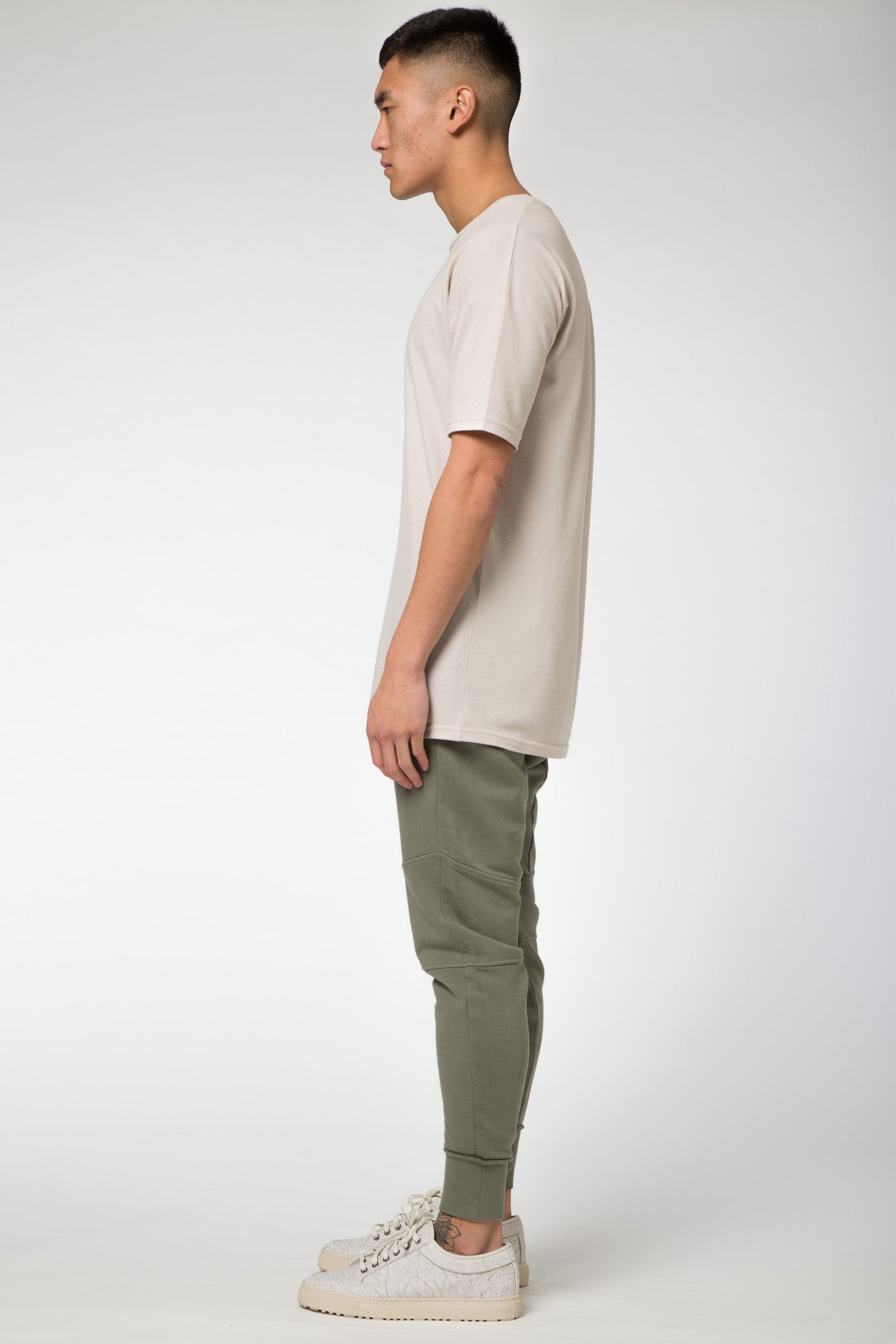 Avid & Co. [ Oversize ] Tee Light Taupe