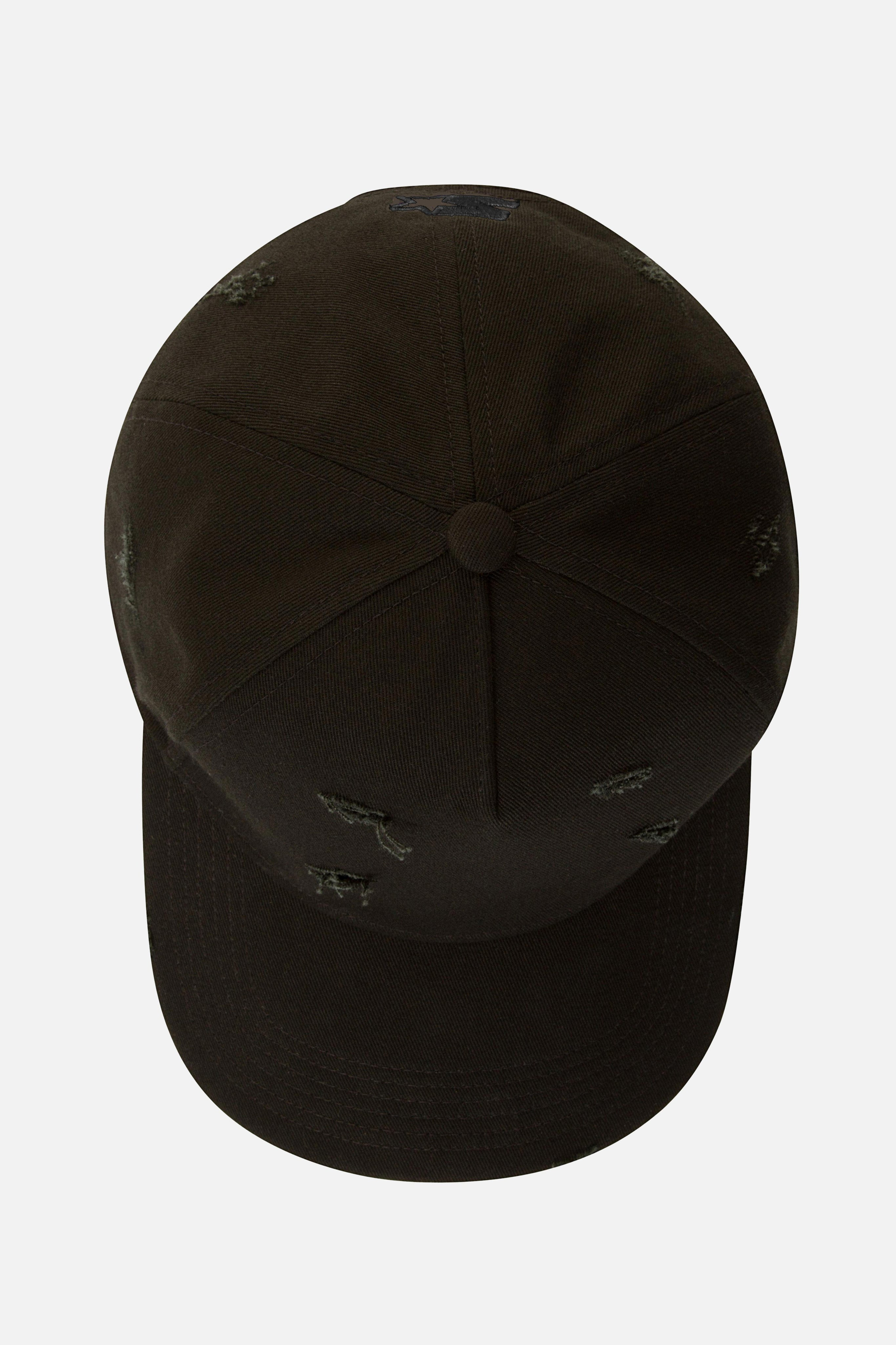 Avid & Co. x Starter® Black [ Distressed ] Trucker Hat