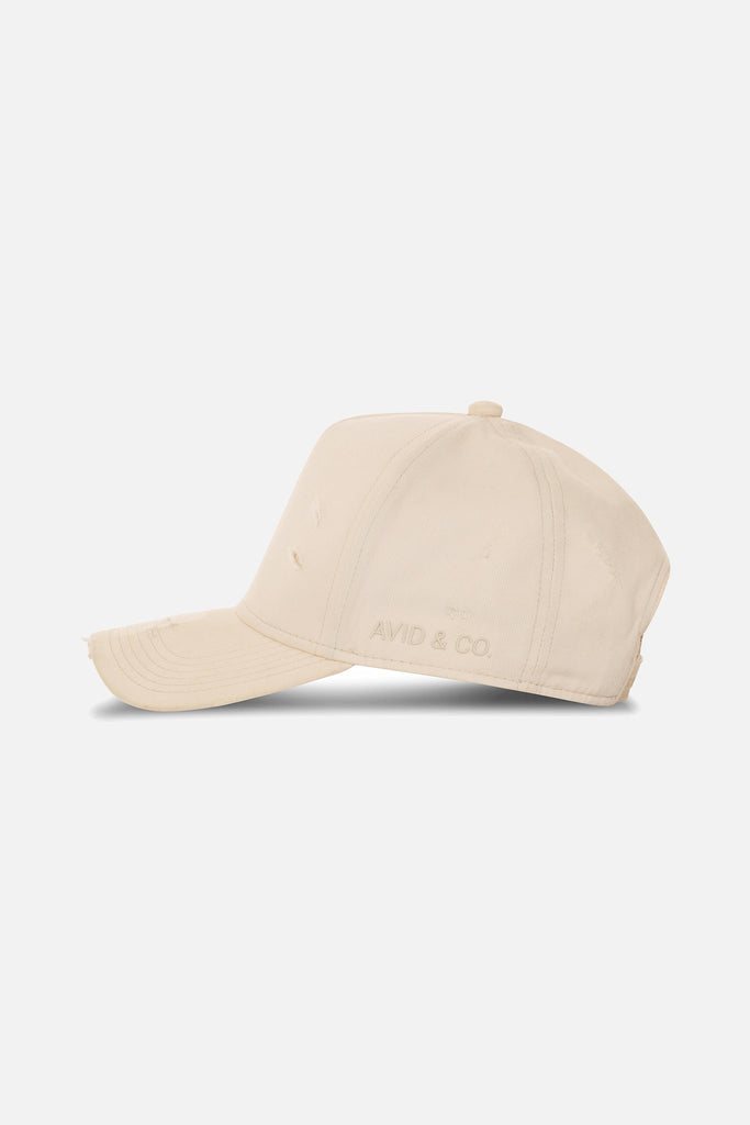 Avid & Co. x Starter® Off-White [ Distressed ] Trucker Hat