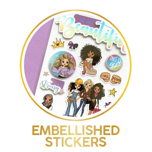 Embellished Stickers