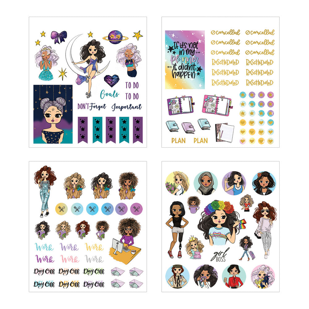 Planner Girl Mini Sticker Book