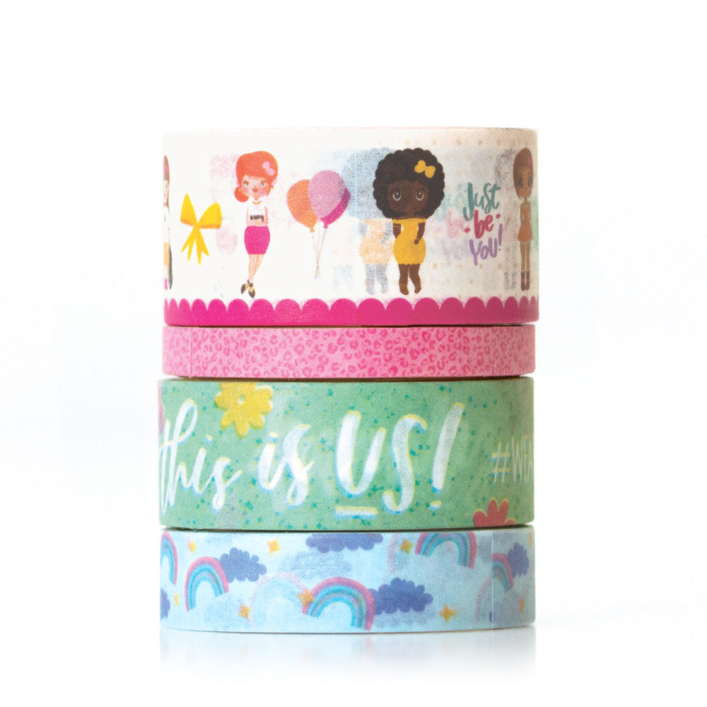 Just Be You Washi Tape Set