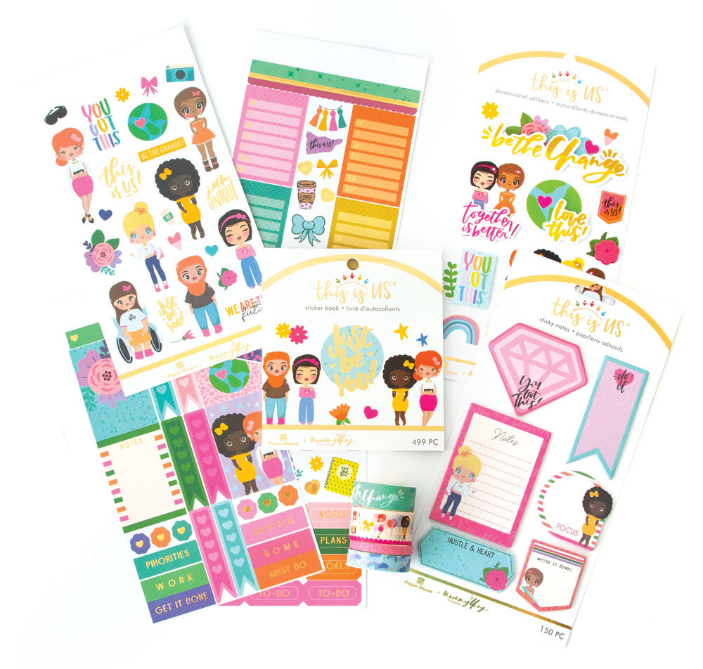 Mommy Lhey Just Be You Planner Bundle