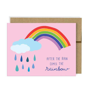 After the Rain Card - Neighborly Paper