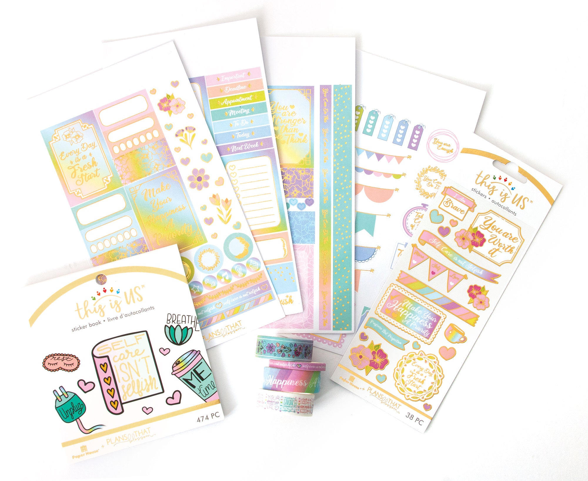 Pastel Self Care Bundle