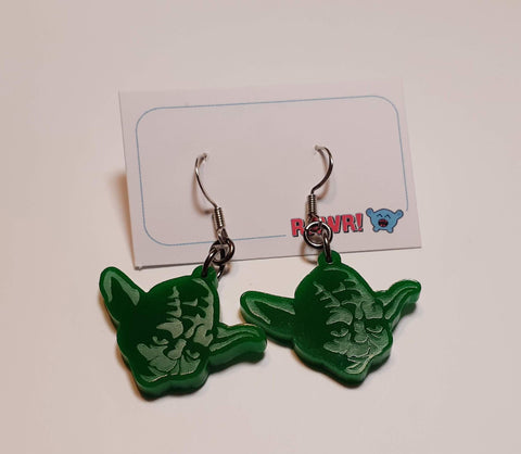 Yoda Earrings