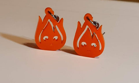 Calcifer Dangly Earrings