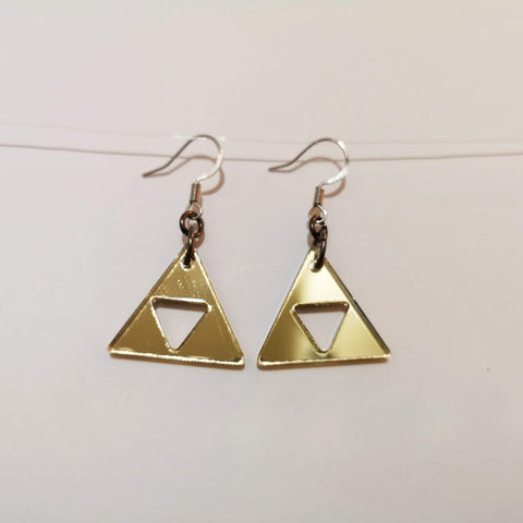 Triforce Earrings